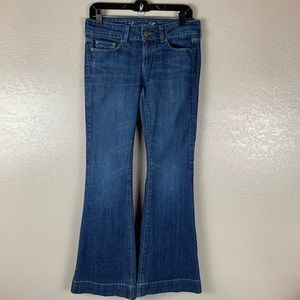 American Eagle Outfitter AE77 Flare Leg Jeans 6